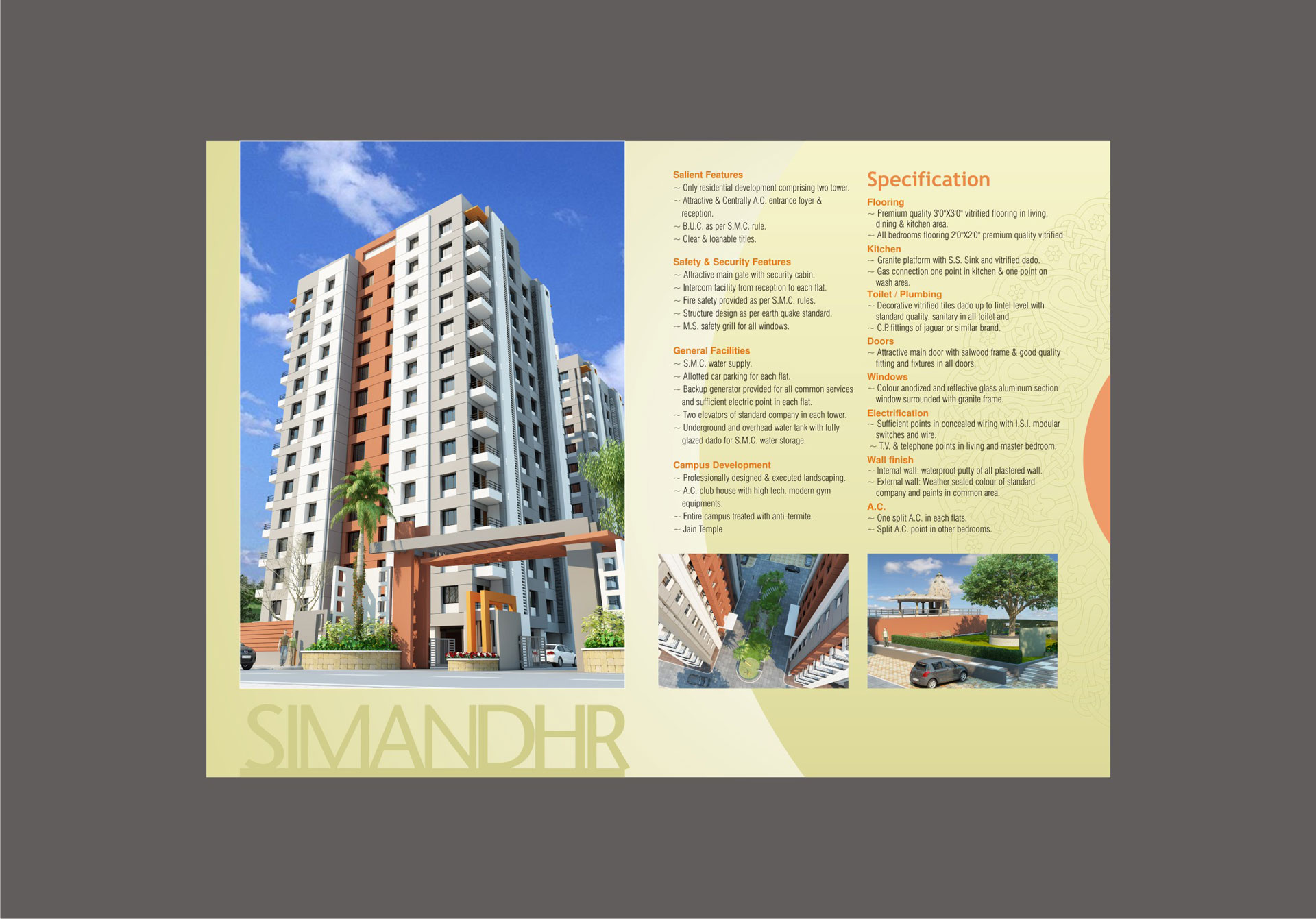 Simandhar Height